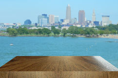 Background and Foreground Skyline Royalty Free Stock Photo