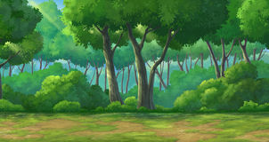 Background forest daytime Stock Image