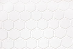 Background in the form of honeycombs. White background in the form of honeycombs Stock Image