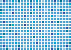 A background in the form of a mosaic in blue colors Stock Images