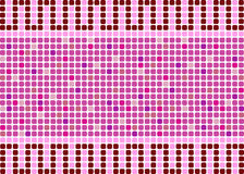 A background in the form of a mosaic in rose and red colors Stock Photo