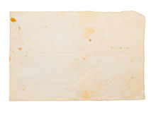 Background in the form of an old dirty paper Royalty Free Stock Image