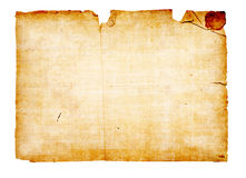 Background in the form of an old paper Royalty Free Stock Image