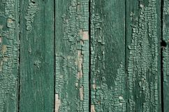 Background in the form of old wooden boards Stock Images