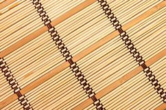 Background in the form of a straw mat Stock Photography