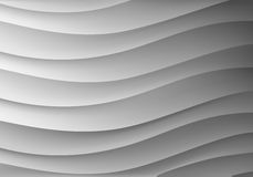 Background in the form of waves Stock Photo