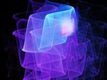 Background fractal, waves shape Stock Photo