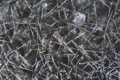Background of fragments of ice Royalty Free Stock Images