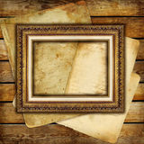 Background with frame Stock Photos