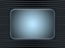 Background frame. Black and blue stripe background royalty free illustration