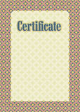 Background frame certificate Stock Photo