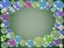 Bubble frame Royalty Free Stock Photos