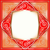 Background frame with ornaments of Stock Image