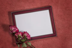 Background with frame for photo royalty free stock photos