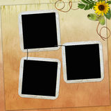 Background with frames Stock Image