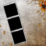 Background with frames Royalty Free Stock Photo