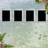 Background with frames Stock Images