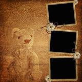 Background with frames Royalty Free Stock Photos