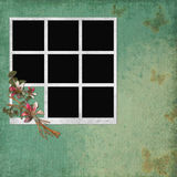 Background with frames and flowers Royalty Free Stock Photos