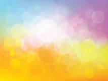 Background with fresh colors Royalty Free Stock Photography