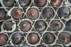 A background of fresh figs Stock Photography