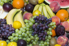 Background of fresh fruits Royalty Free Stock Photography
