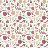 Background of fresh and healthy food. Vegetables pattern in retr Royalty Free Stock Photo
