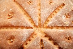 Background of fresh homemade bread Stock Image