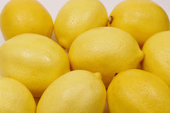 Background of fresh lemons Royalty Free Stock Images