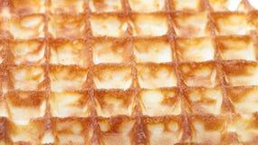 Background of fresh ruddy waffel Stock Image