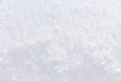 Background of fresh snow Royalty Free Stock Photography