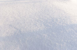 Background of fresh snow and shadow Stock Photography