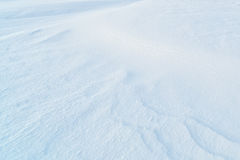Background of fresh snow Stock Photo