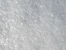 Background of Fresh Snow. Snow texture.Real shining snow Royalty Free Stock Photography
