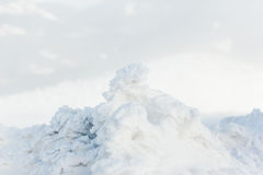 Background of fresh snow Stock Photography