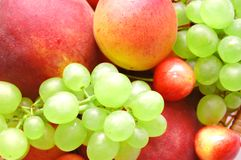 Background of fresh summer fruit Stock Photos