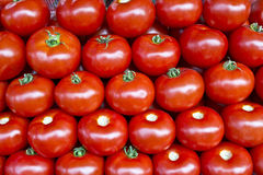 A background of fresh tomatoes Royalty Free Stock Images