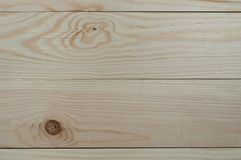 Background of fresh unpainted boards. Horizontal Royalty Free Stock Photos