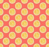 Background of fresh yellow lemon slices. Seamless pattern. Close up. Studio photography royalty free stock images