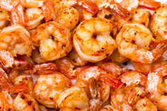 Background of Fried Prawns Royalty Free Stock Images