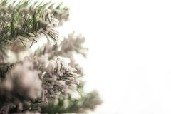 Free Background From A Christmas Tree Decorated In Blue And Purple Close-up. Greeting Card From A Christmas Tree With Purple Decoration Royalty Free Stock Photography - 164237197