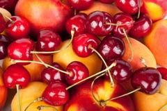 Background From Fresh Fruits Stock Image