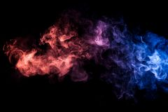 Free Background From The Smoke Of Vape Royalty Free Stock Photography - 110514357