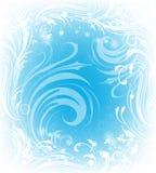 Background of frosty pattern Stock Photo