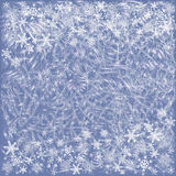 Background with frosty patterns Royalty Free Stock Photo