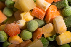 Background of Frozen vegetables Royalty Free Stock Photography