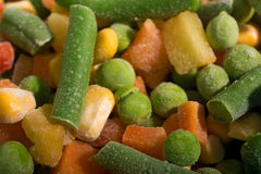 Background of Frozen vegetables Royalty Free Stock Photo