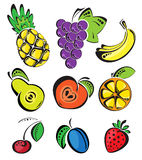 Background with fruit Royalty Free Stock Photography