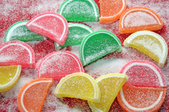 Background fruit Candy. Royalty Free Stock Photo