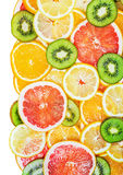 Background fruit slices Royalty Free Stock Images